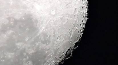 Em Kiev, anunciou seu direito aos minerais na lua
