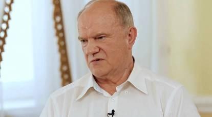 Zyuganov consigliava di studiare la Bibbia per capire meglio i comunisti