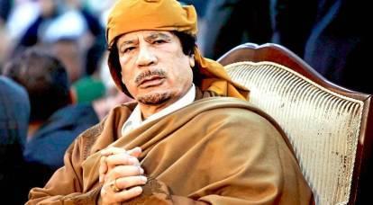 Gheddafi iniziò a vendicarsi dell'Occidente dall'altro mondo