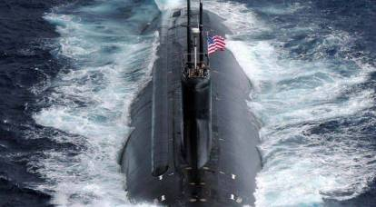 First images of an American nuclear submarine after colliding with an unknown object in the South China Sea