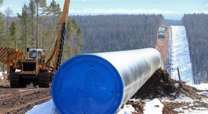 Gas gratis: il potere della Siberia diventa ancora più svantaggioso per la Russia