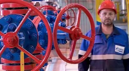 "Mídia suíça: Rússia fornece gás à Europa na ""greve italiana"""