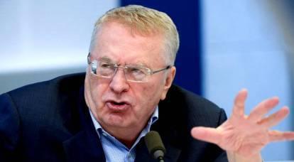 Zhirinovsky ha rivelato ciò che gli anglosassoni temono di più