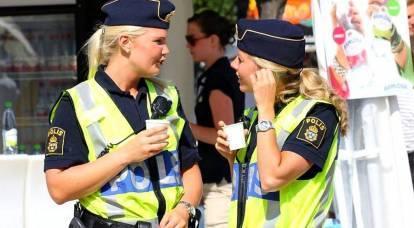 Los suecos necesitan urgentemente algo de policía rusa