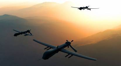 """Attack of a """"swarm"""" of drones on Khmeimim commanded by Poseidon"""