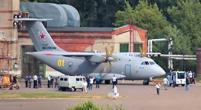 I test di volo dell'aereo da trasporto Il-112V continueranno nonostante l'incidente