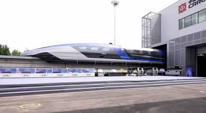 China lanza uno de los trenes más rápidos del mundo