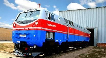 Gli ucraini viaggeranno su locomotive russo-americane