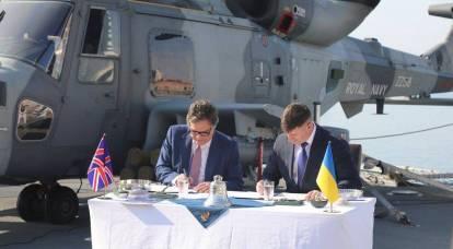英国海军基地将出现在乌克兰:签署协议