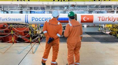 """Os gasodutos """"Turkish Stream"""" e """"Power of Siberia"""" estão quase prontos"""