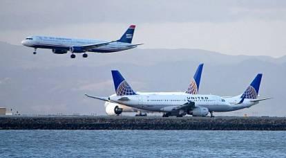 L'industria aeronautica statunitense sperimenta il massimo atterraggio duro