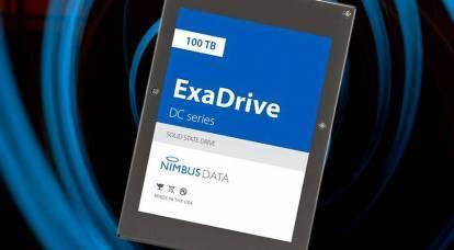 100テラバイト:ヘビーウェイトSSDがすべての記録を破る