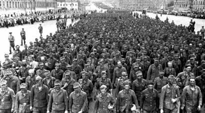 """""""Gran vals"""" de Beria y Stalin: el lado secreto de la marcha de los prisioneros en Moscú"""