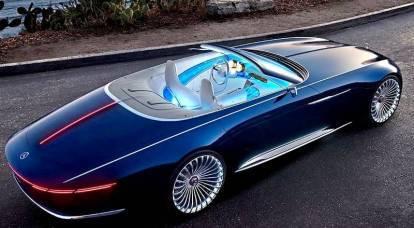 L'auto elettrica più lussuosa Mercedes-Maybach 6