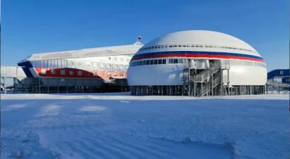 每日邮报评论员嘲笑俄罗斯在北极的基地