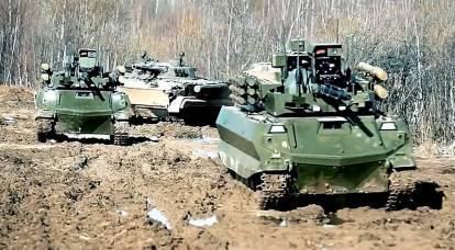 The Russian army began rearmament to combat robots