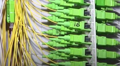 """摩尔曼斯克工厂开始为""""极地快车""""项目生产光纤"""