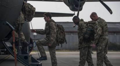 L'unità NATO è arrivata nella regione di Luhansk?
