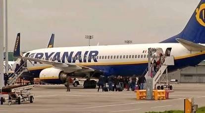 Avión de Ryanair aterrizando en Minsk: quien logró jugar con la impulsividad de Lukashenka