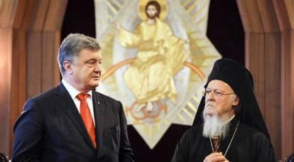 Chiesa ortodossa russa: repressioni contro i cristiani ortodossi in Ucraina - opera di Costantinopoli