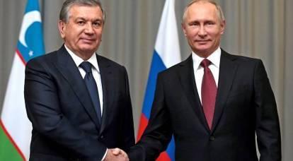 La Russia è entrata nella lotta per l'Uzbekistan