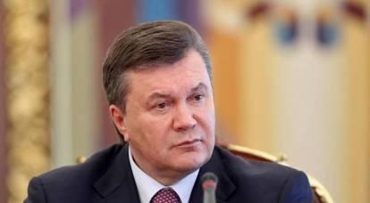 Viktor Yanukovych was injured in a Moscow hospital