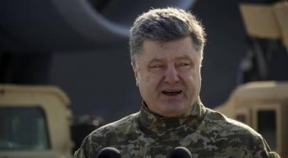 Poroshenko vuole trasferire l'esercito ai confini russi