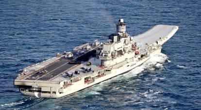 """¿De dónde vino el sistema de alcantarillado italiano en """"Almirante Kuznetsov""""?"""