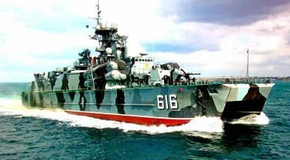 La flotta del Mar Nero ha annunciato la caccia ai pirati ucraini