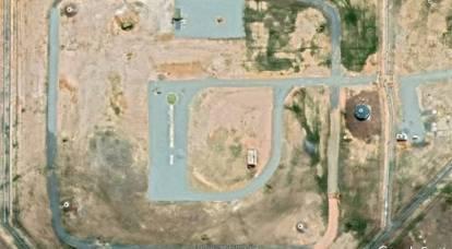 Immagini satellitari pubblicate dello spiegamento del primo reggimento Avangard