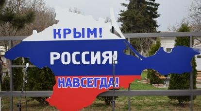 Why do Crimean delegates go to the UN?