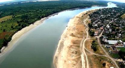 Shallowing of the Don leads to an ecological disaster in the South of Russia
