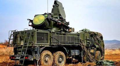 """Il russo """"Pantsir-C1"""" in Siria ha fermato duramente i piani dei militanti"""