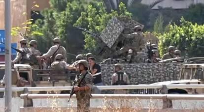 O Líbano está à beira de uma segunda guerra civil