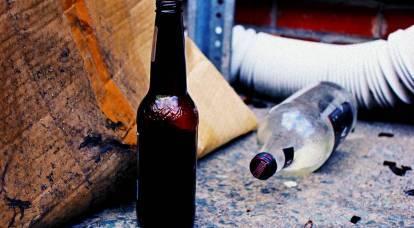L'Occidente beve ubriaco a un ritmo accelerato, accusando i russi di alcolismo