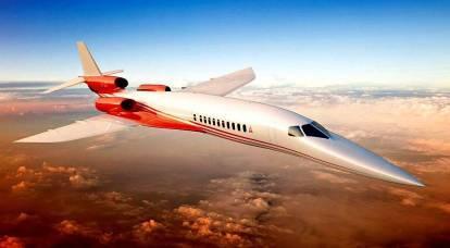 Más de 1600 km / h: los viajes aéreos supersónicos se harán realidad