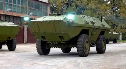 セルビアとコソボの国境の緊張:ベオグラードが装甲車を引き寄せる