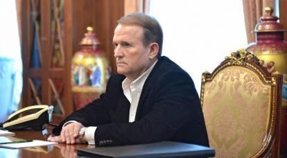 """Medvedchuk, na Ucrânia, foi acusado de traição e terrorismo por """"acordos"""" com o LPR e o DPR"""