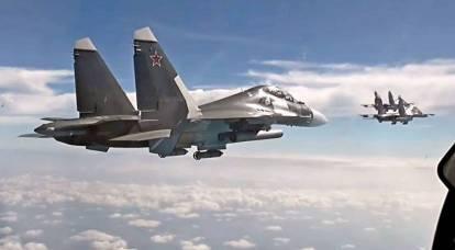 Российские ВКС сорвали разведывательную операцию НАТО в Черном море