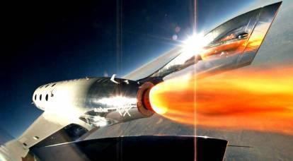 Veicolo spaziale supersonico testato negli Stati Uniti