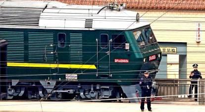 In treno blindato: perché Kim Jong-un è venuto in Cina?