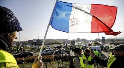 """In France, did not find Russia's fault in the actions of """"Yellow vests"""""""