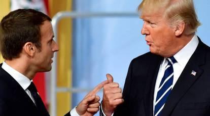 US-France scandal: Macron responds to Trump