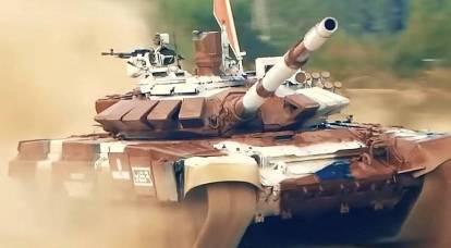 A Rússia assumiu a massiva modernização dos tanques T-72
