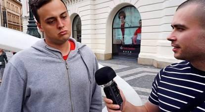 Los checos comunes reaccionaron a la expulsión de los diplomáticos rusos del país.