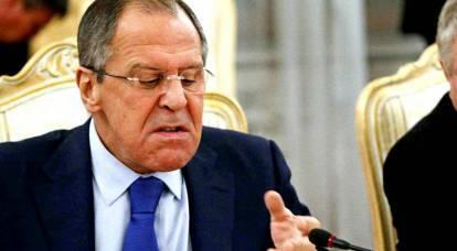 Lavrov ha fatto una lunga lista di rivendicazioni all'Occidente