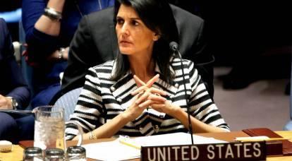 Gli Stati Uniti si sono asciugati i piedi sul Consiglio di sicurezza delle Nazioni Unite