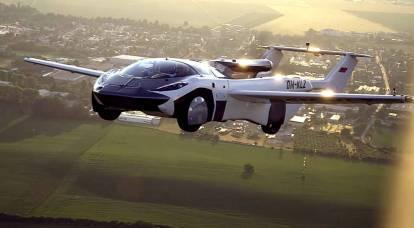 L'auto decappottabile europea vola per la prima volta tra le città