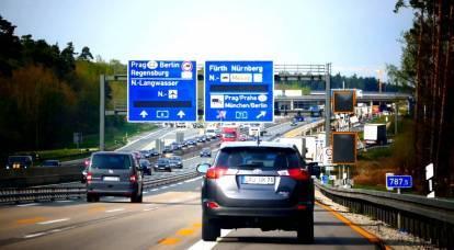 Los rusos en una nota: por qué Alemania no viola las normas de tráfico
