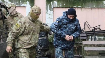 I marinai ucraini sono stati accusati: affrontano un termine reale